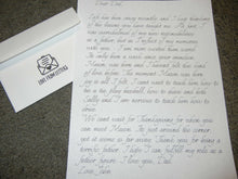 Load image into Gallery viewer, Professional Handwritten Letter Service - Handwriting Robot Letter