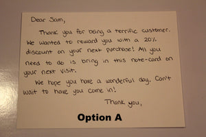 Best Handwritten Notes Service for Customer to Increase Sales Online