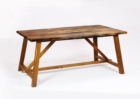 160 Rustic Dining Table