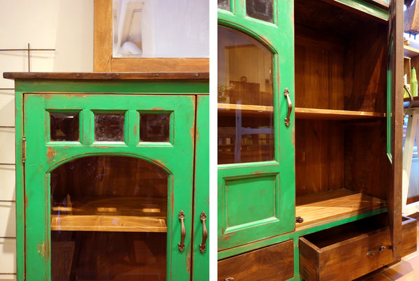Large Green Cabinet