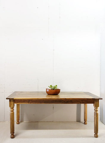 180 Natural Column Dining table