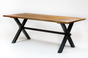 200 Cross Black Dining Table
