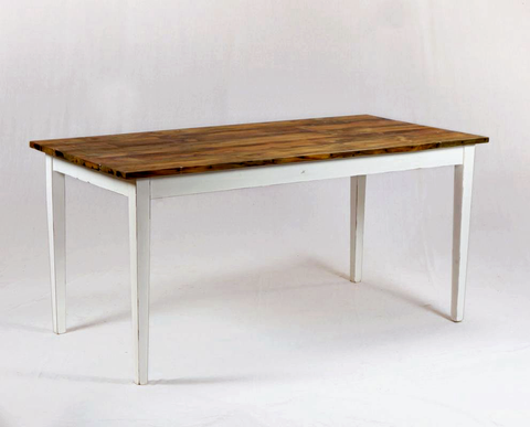 160 Tapered White Dining Table