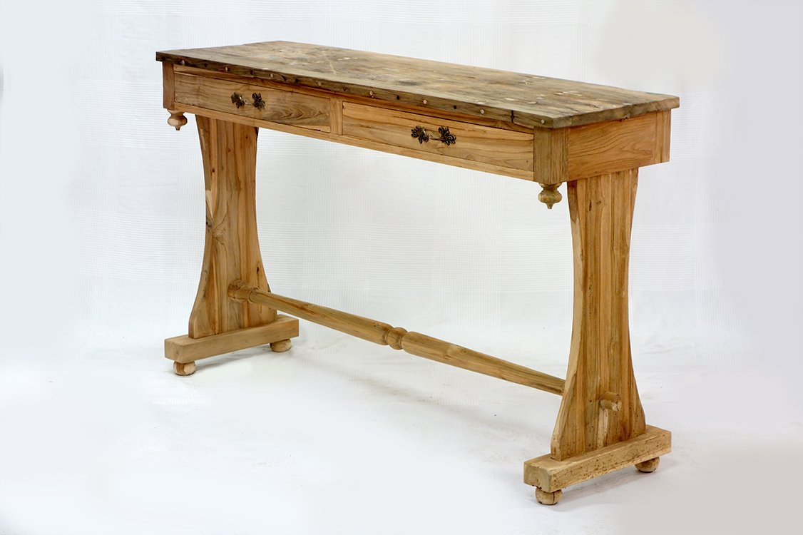 Console with two drawers