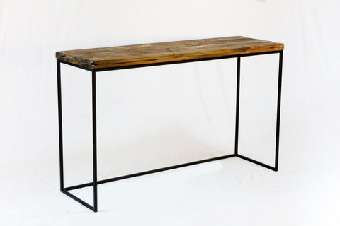 Metal Bar Console