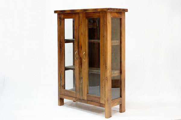 Wood  Glass Cabinet
