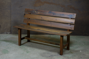 Reclaimed Wooden Bench