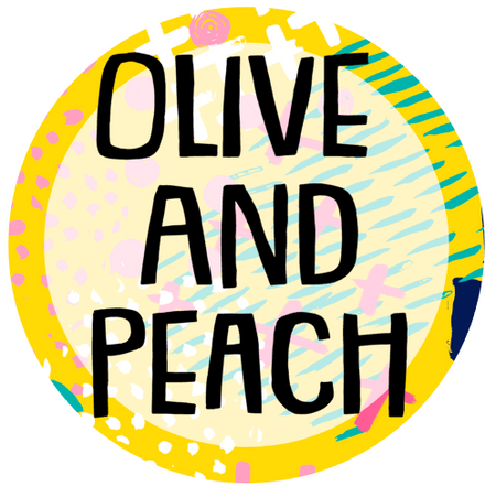 Olive and Peach