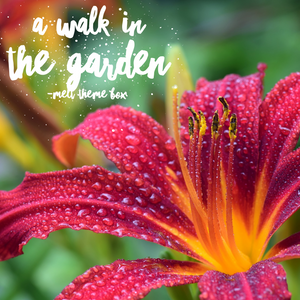 A Walk In The Garden - Theme Pack