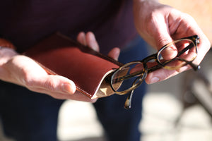 Compact but protective glasses case ideal for medium to small glasses.