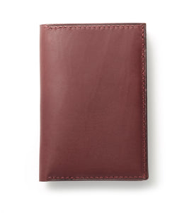 Six-slot bi-fold mens wallet with four additional pockets.