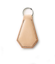 Hand-stitched Leather Key Ring.
