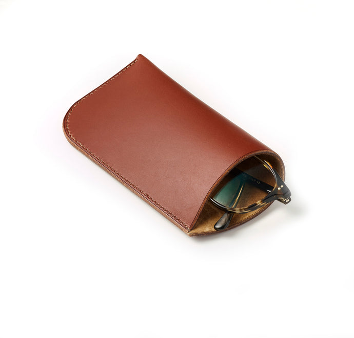 Folded glasses case