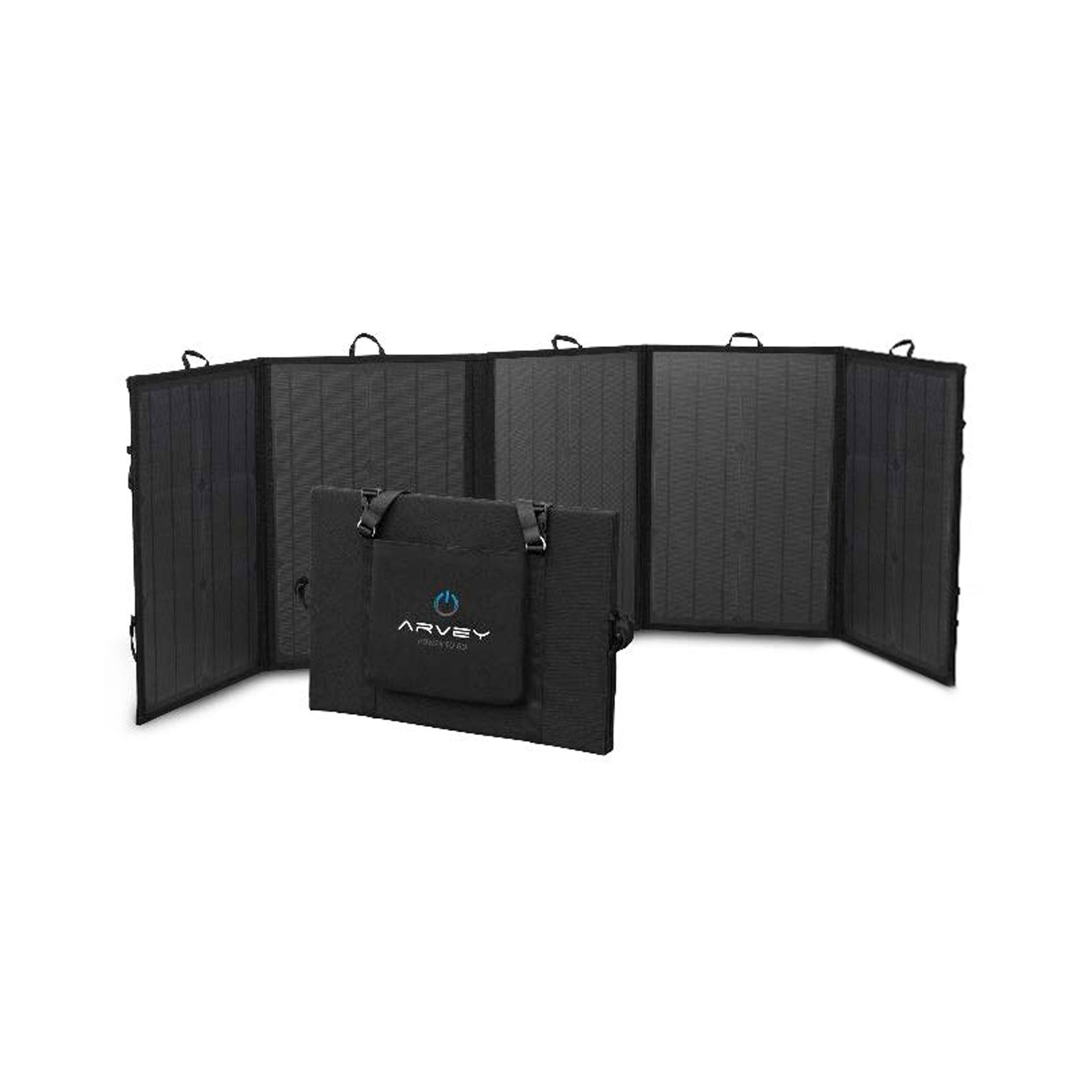 Faltbares Photovoltaik Panel 125W - ARVEY mobile solargenerator and portable power solutions