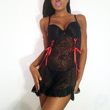 Load image into Gallery viewer, Feelin' Cute Lace Babydoll