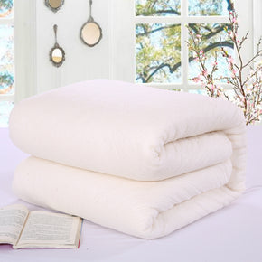100% Cotton Duvets Hypoallergenic Warm