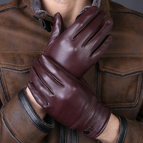 Men's Gloves High Quality Real Genuine Leather