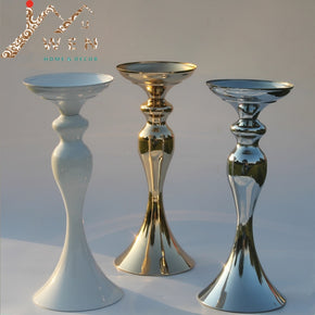 metal candle holder 32cm/12""