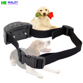 CN  Automatic Dog Anti Bark Collar Electric Shock, Vibration and Sound Sensor, 7 Intensities WALZY PET 853 no battery and box