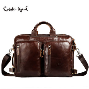 Laptop bag Briefcase Leather