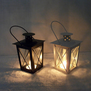 Holder Tealight Candlestick Hanging Lantern Vintage