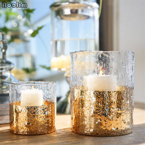 Candlestick Glass Candle Holders