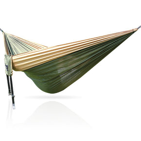 Portable 300 kg Load-bearing Outdoor Garden Double Hammock