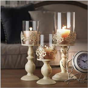 Vintage Romantic Candle Holders