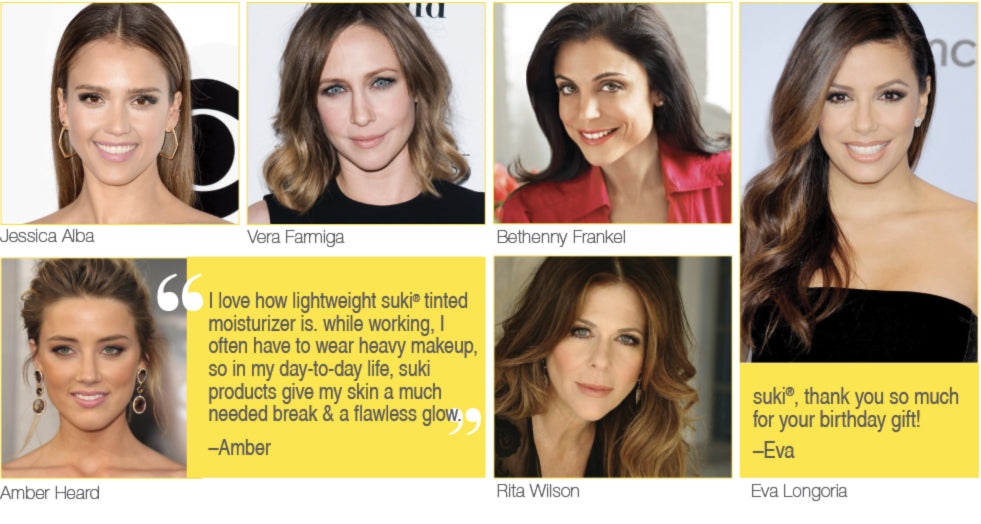 suki skincare celebrities
