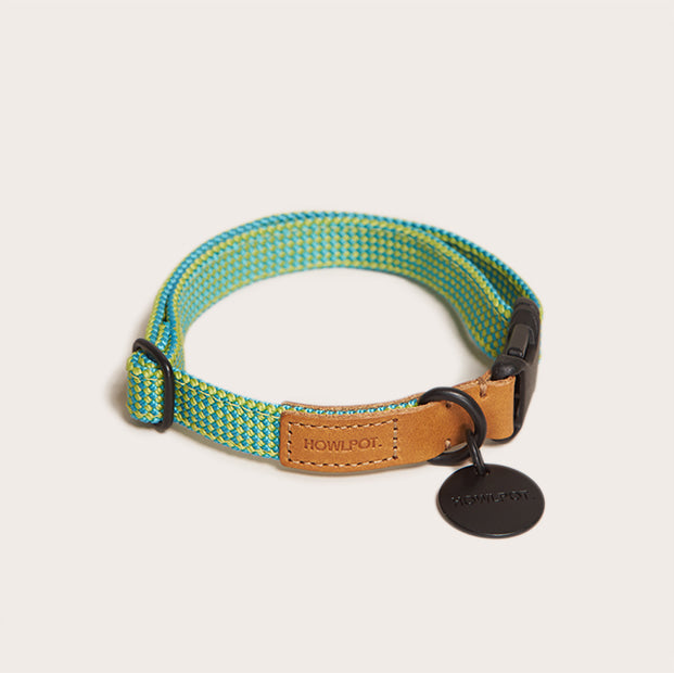 Palm tree ribbon type collar