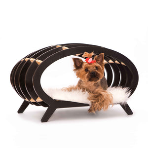 Stripe dog house. Interior collection Concept-pet.