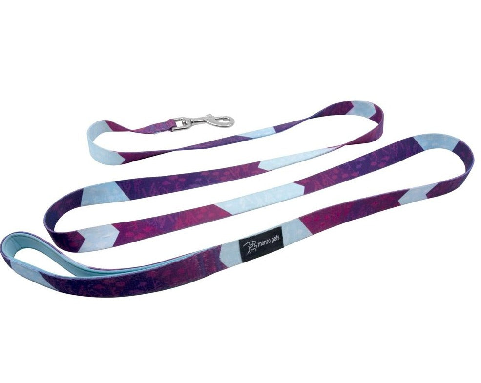Metric Floral - Dog Lead and Leash - Padded Handle