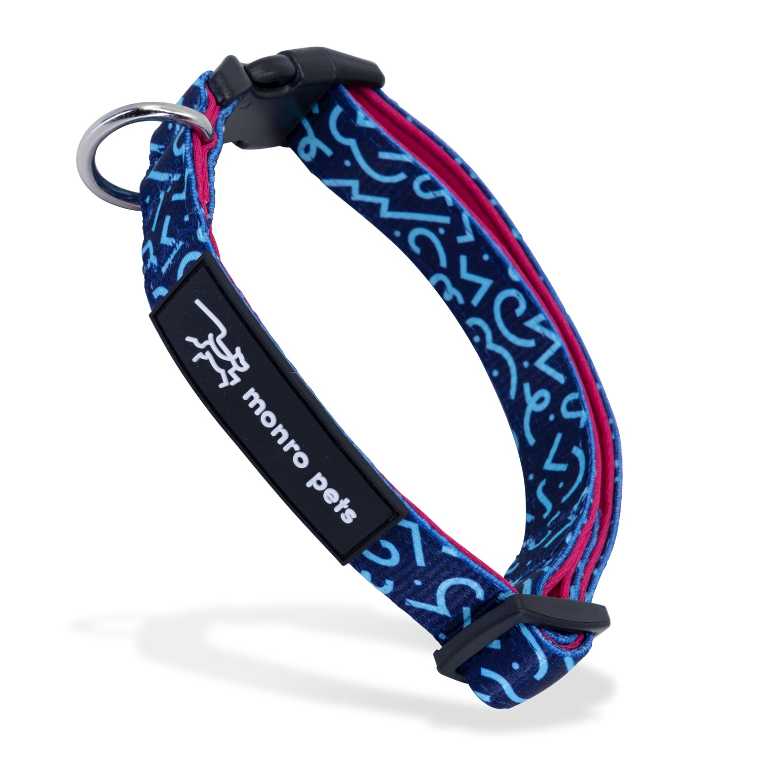 Groovin' Graffiti Dog Collar Product Shot