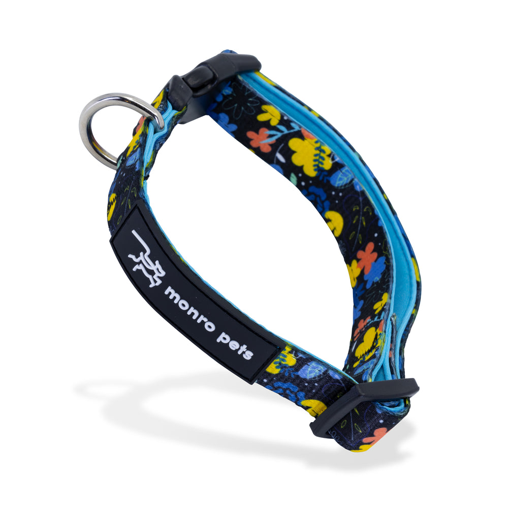 Nights-a-Bloom Dog Collar Product Shot