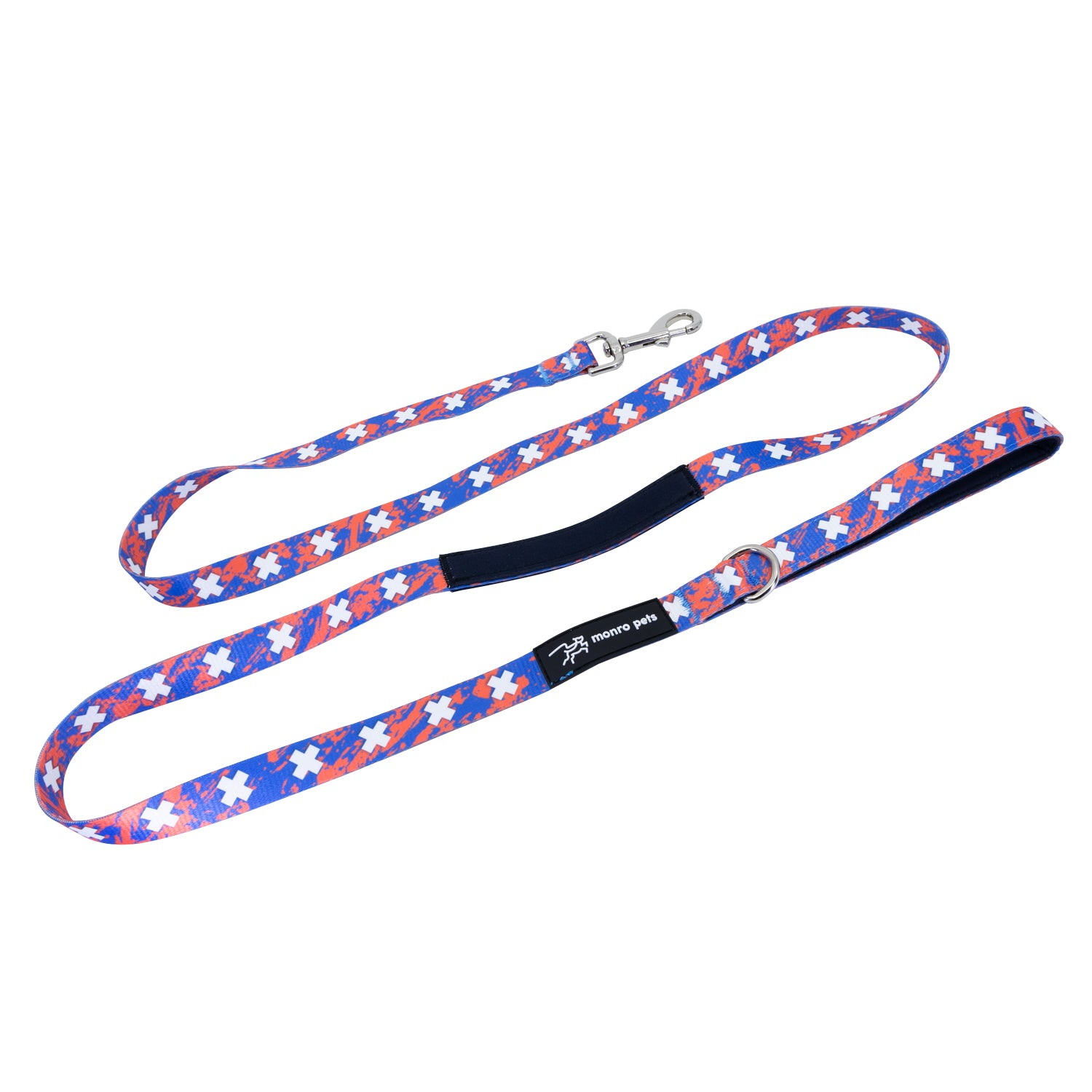WS: Atomic Coral Dog Leash
