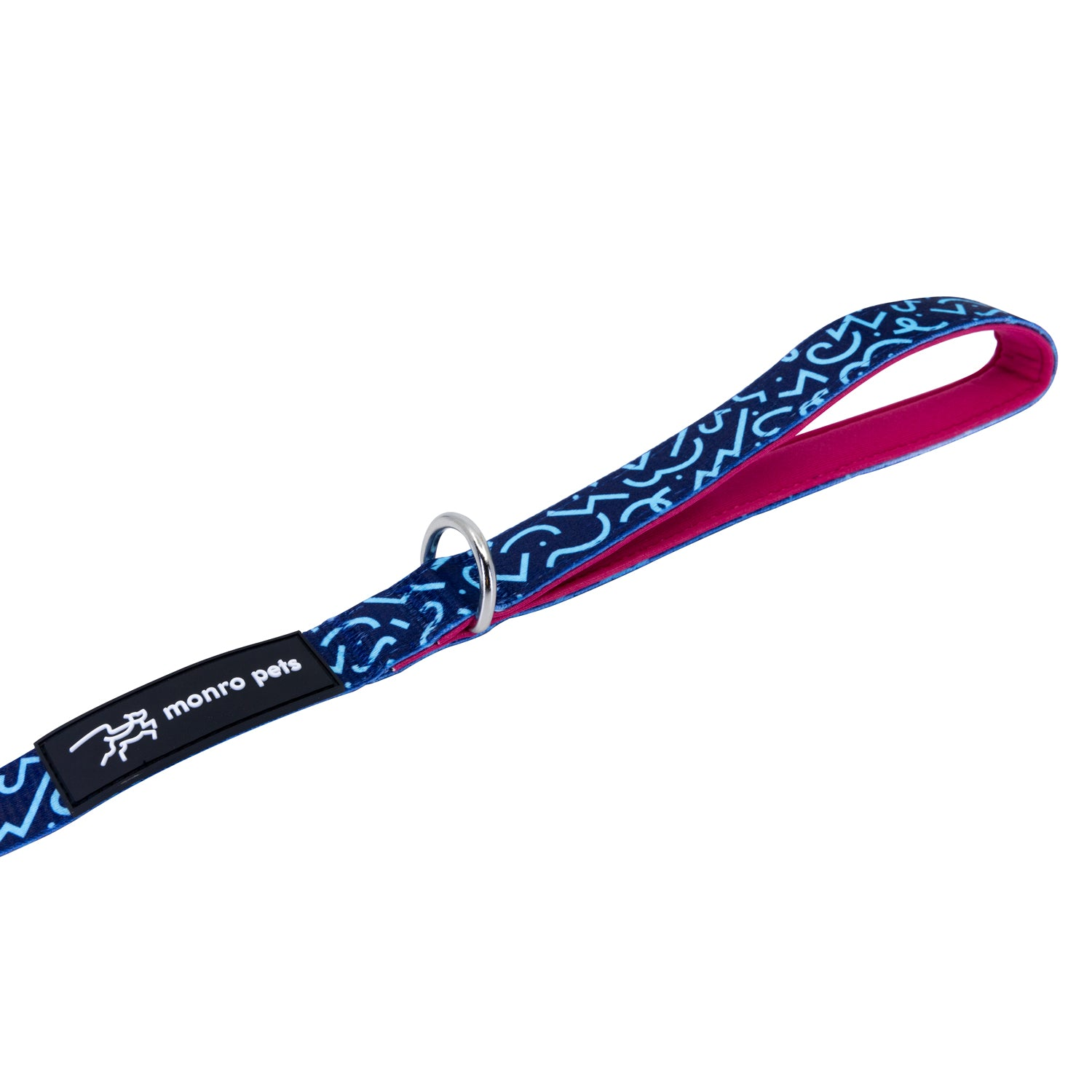 Groovin' Graffiti Dog Lead and Leash Padded Handle and D-Ring Product Shot