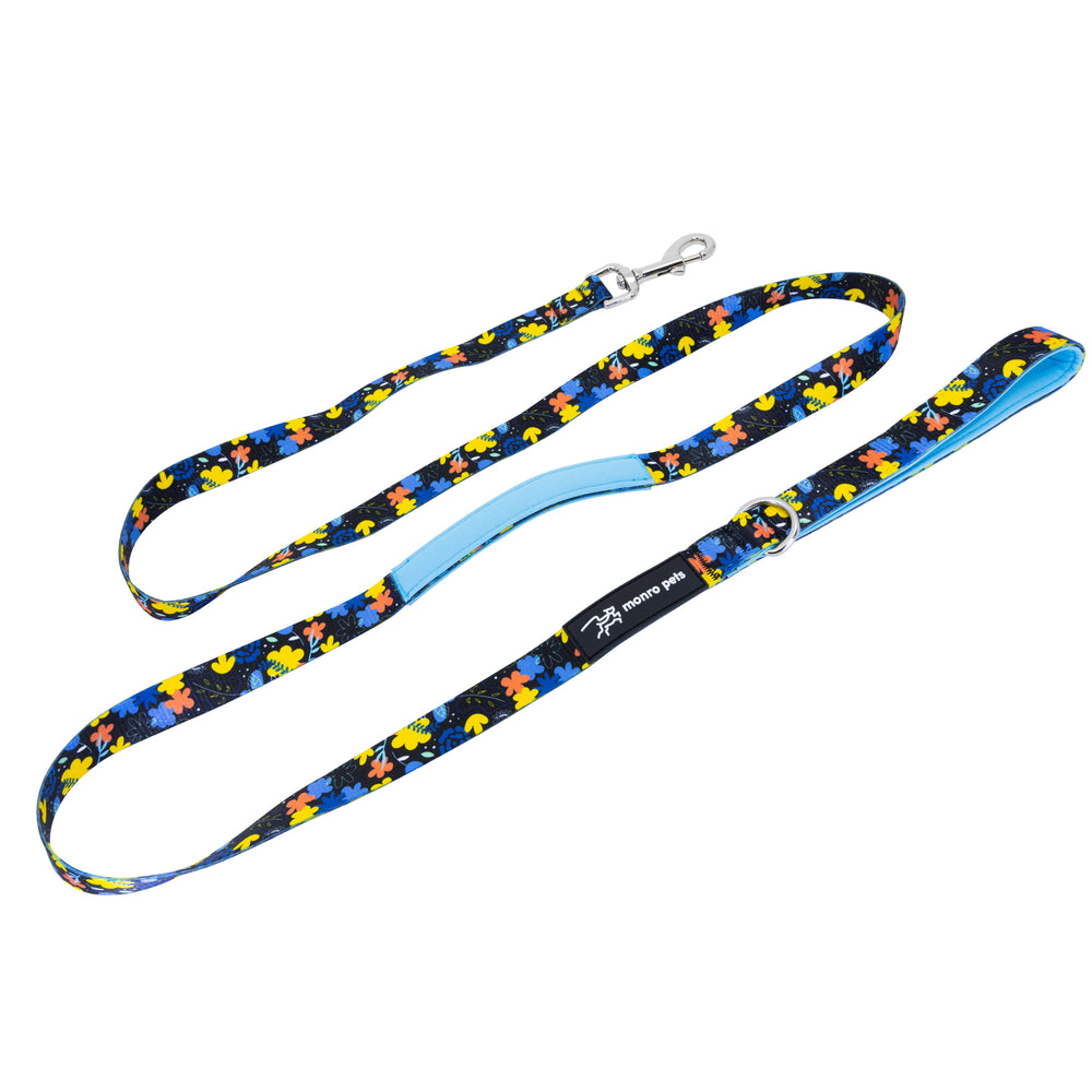 Nights-a-Bloom Dog Lead and Leash Product Shot