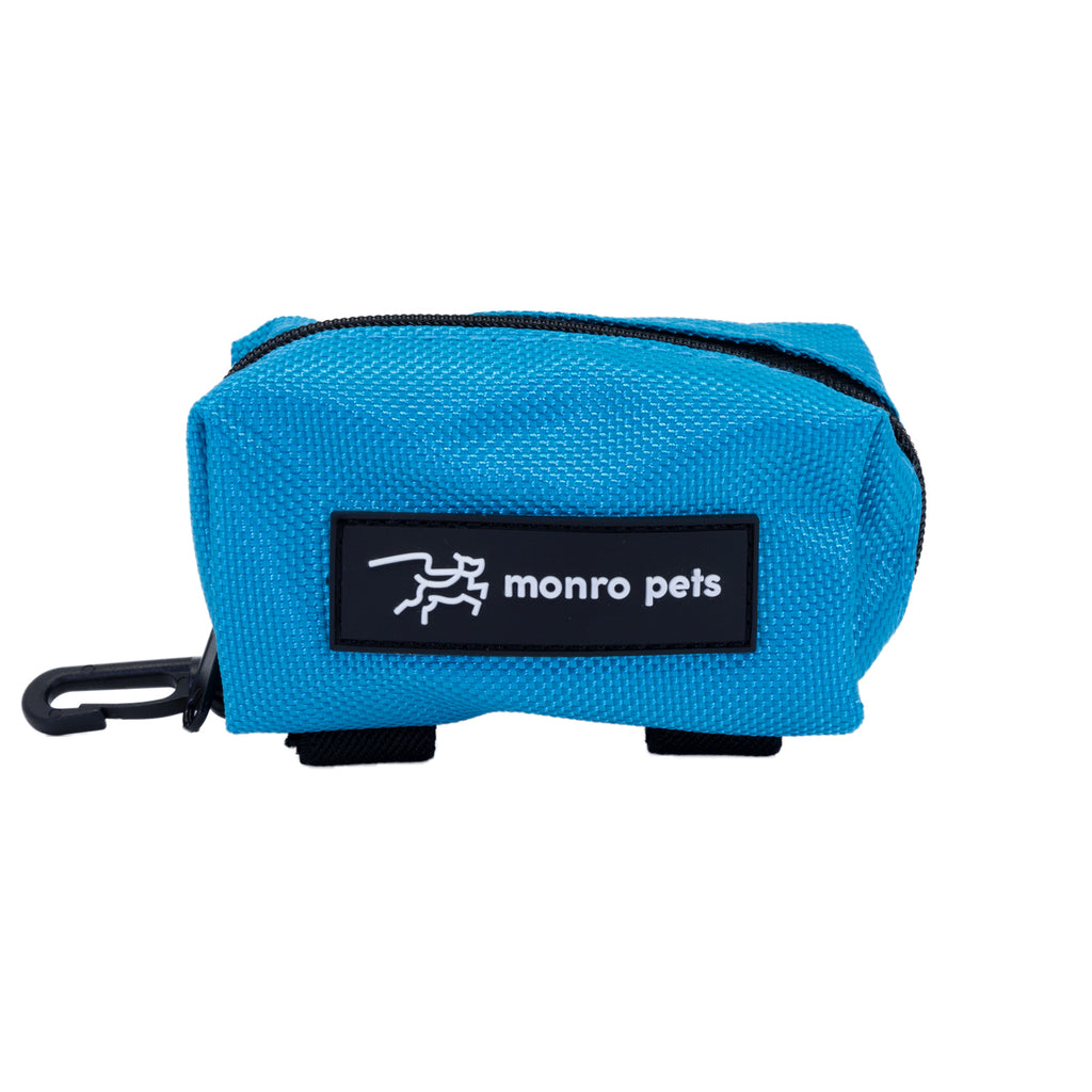 dog-bag-carrier-poop-bag-holder-carolina-blue-front-view