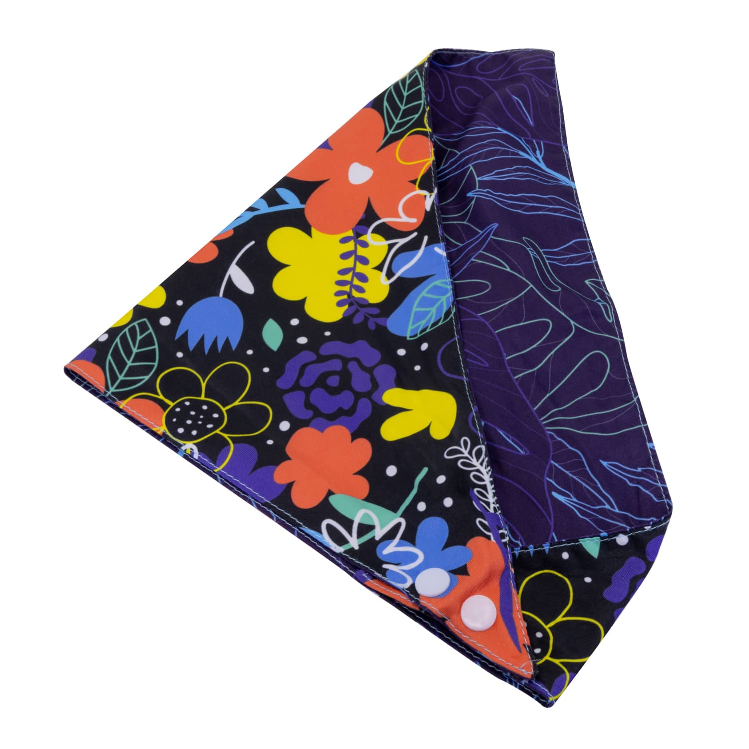 Nights-a-Bloom Dog Bandana