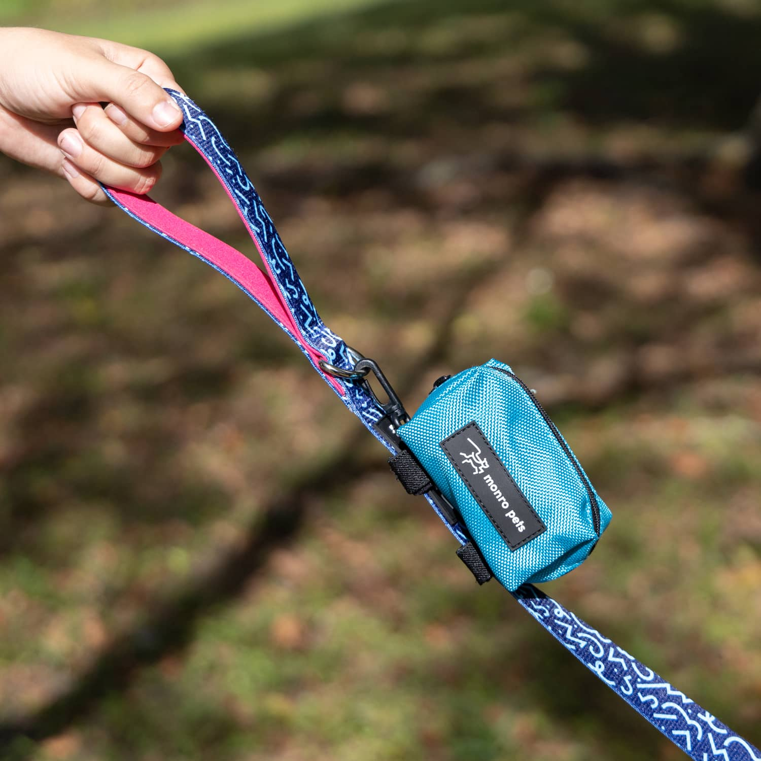 Dog Bag Carrier - Turquoise
