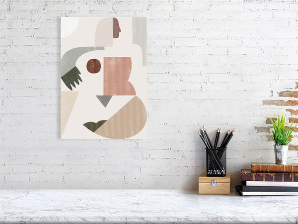 'Lady Geometry' Giclée Print