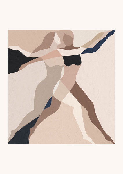 'Two Dancers' Giclée Print