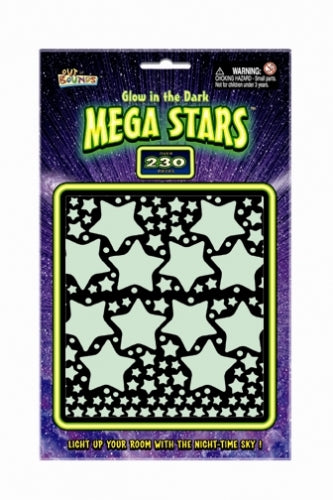 Glow in the Dark Star Stickers Jumbo