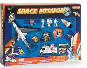 13 Piece Space Playset