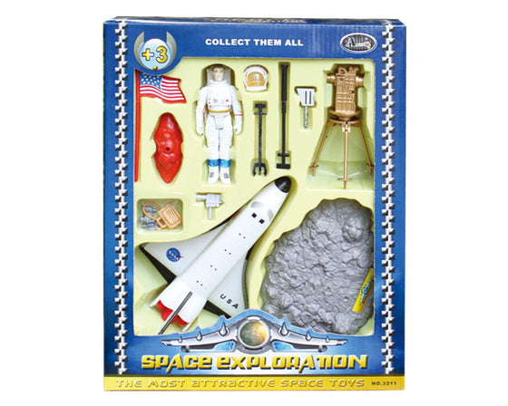 Space Exploration Deluxe Space Shuttle Play Set
