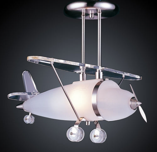 Bi-Plane Shape Pendant Light