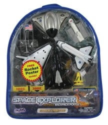 Space Explorer Extreme X-Planes Backpack Playset