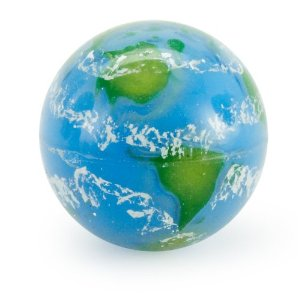 Earth Print Bouncy Ball