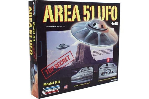 Area 51 UFO Flying Saucer Model Kit