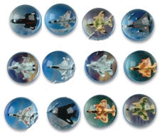 49mm Airplane High Bounce Ball